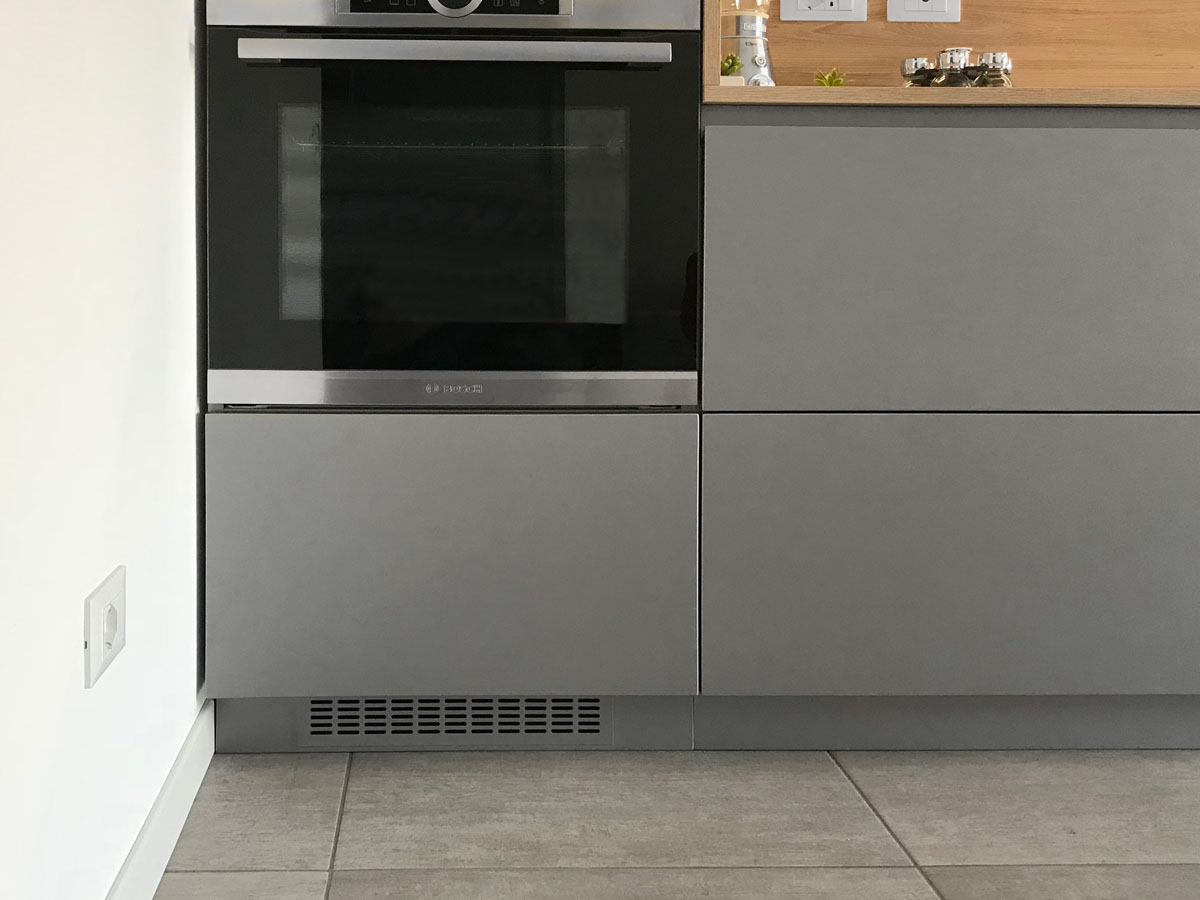 Monos | Cucina minimalista | Valseriana Cucine